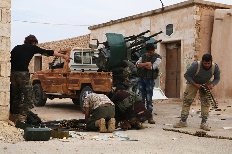 Боевые действия в Алеппо, Сирия