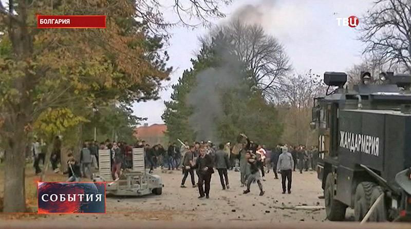 Акции протестов в Болгарии