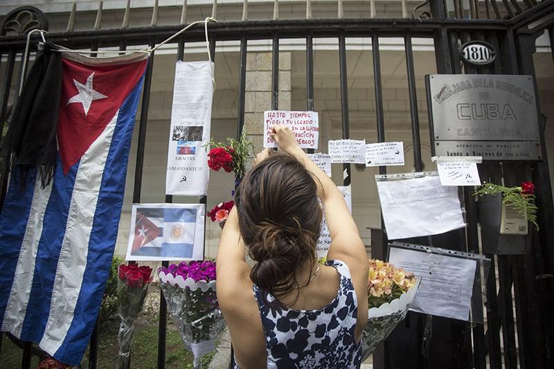 Траур на Кубе