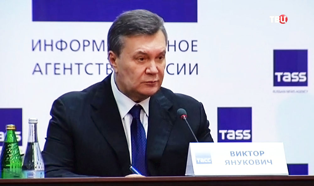 """Янукович: лидеры """"майдана"""" должны дать показания в суде"""
