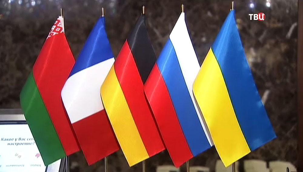 """Переговоры глав МИД """"нормандской четверки"""" в Минске"""