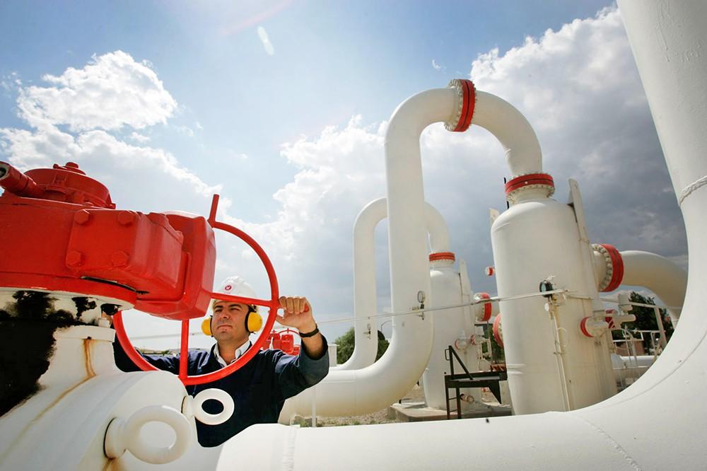 """Строительство газопровода """"Турецкий поток"""""""