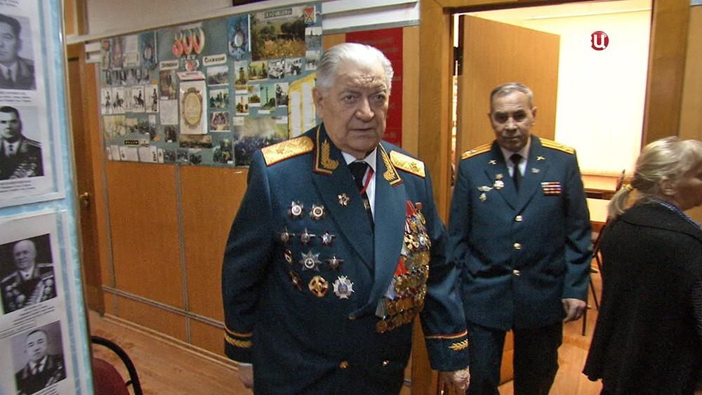 Председатель столичного комитета ветеранов войны Иван Слухай