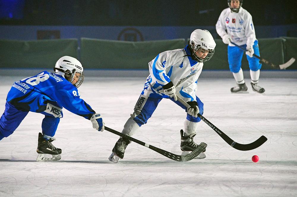 Детский хоккей с мячом