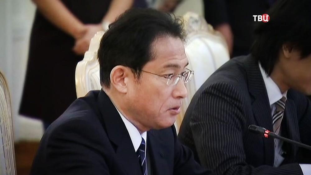 Глава МИД Японии Фумио Кисидо