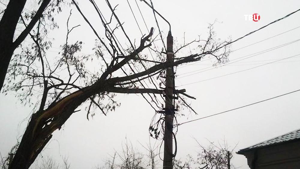 Последствия шторма
