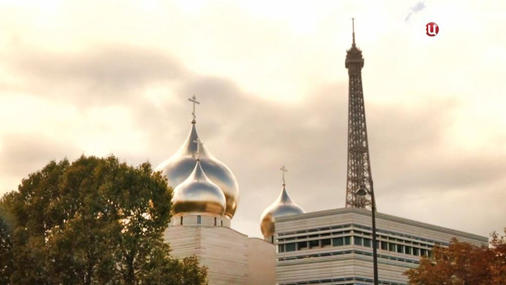 Православный храм в Париже