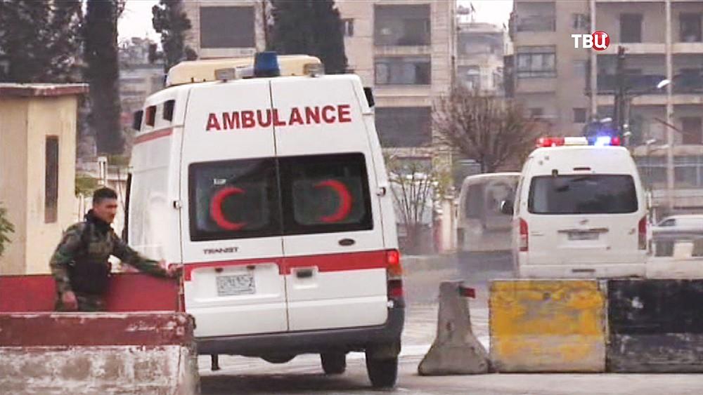 Автомобили скорой помощи в Сирии