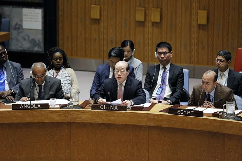 Постпред Китая при ООН Лю Цзеи