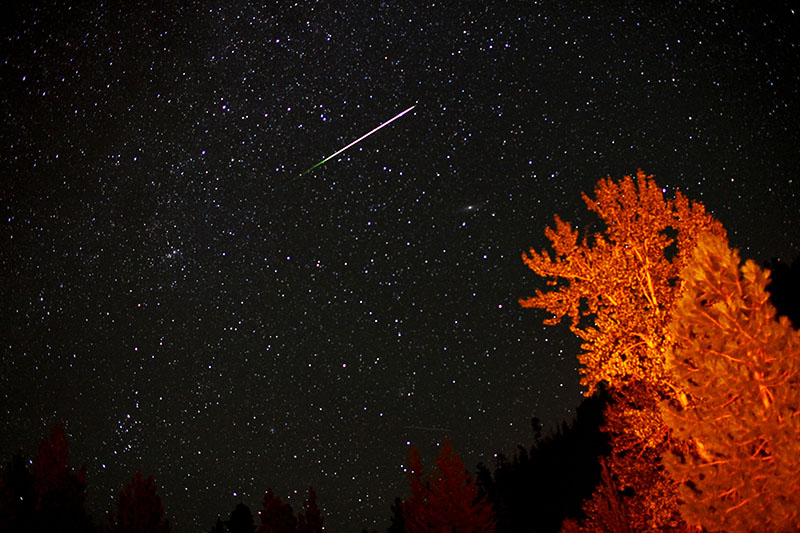 Падение метеорита