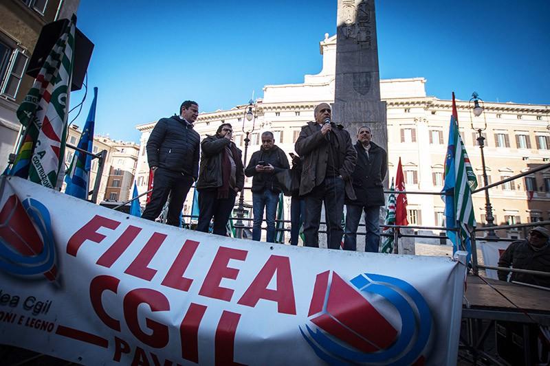 Демонстрация в Италии