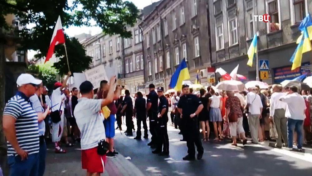 Украинские радикалы в Польше