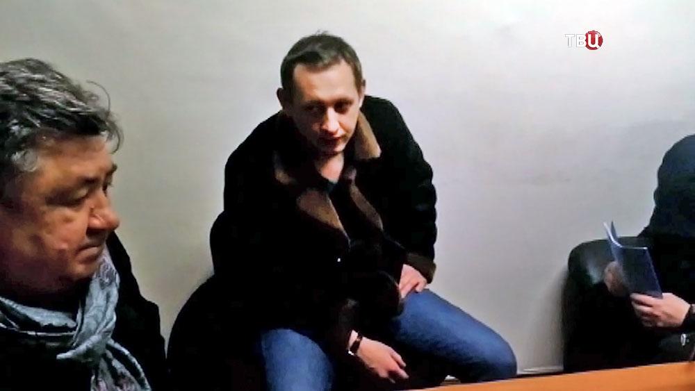 Сбивший двух девочек водитель Gelandewagen Александр Шарый