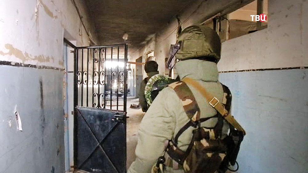 Российские саперы работают в Сирии