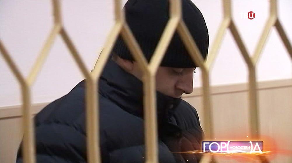 Евгений Леонов в зале суда