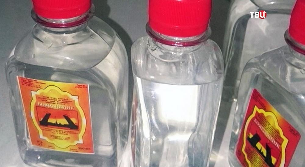 """Емкости со спиртосодержащим средством """"Боярышник"""""""