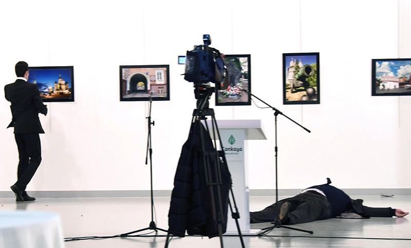 Покушение на российского посла в Анкаре Андрея Карлова