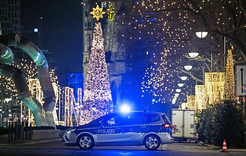 Автомобиль полиции Германии