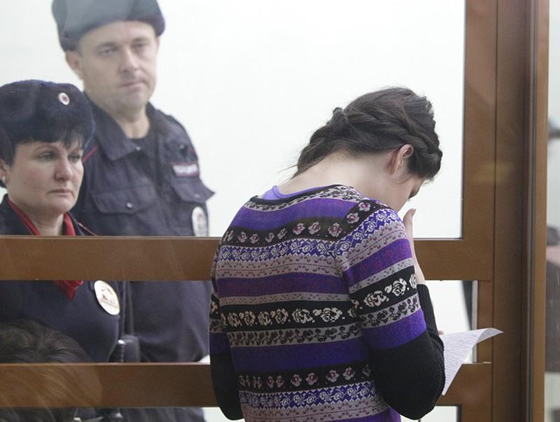 Варвара Караулова в зале суда
