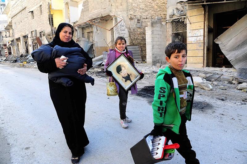 Жители Алеппо, Сирия