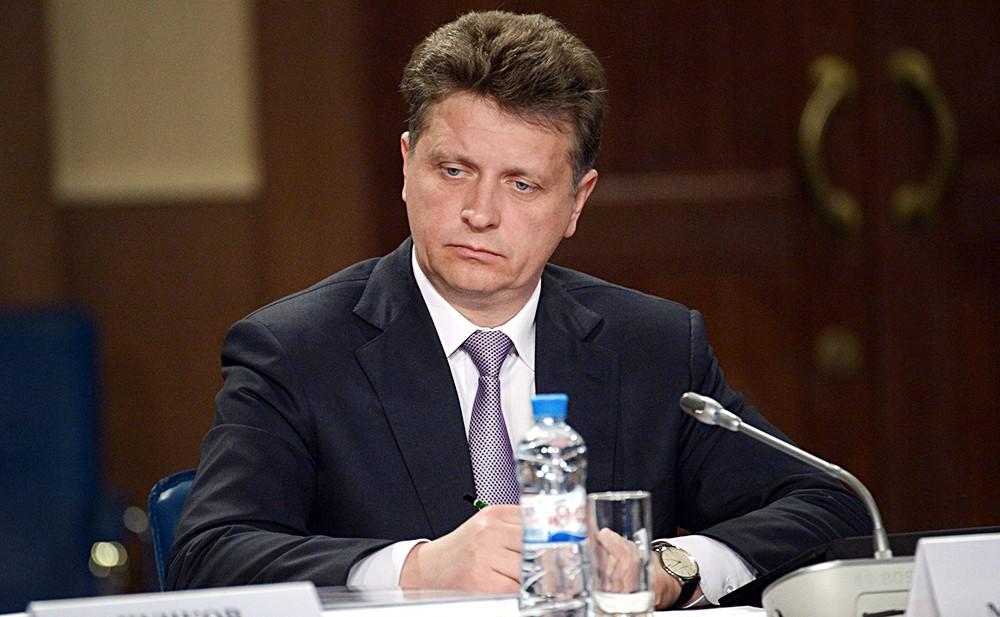Исполняющий обязанности министра транспорта Максим Соколов