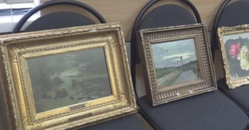 Похищенные картины Левитана