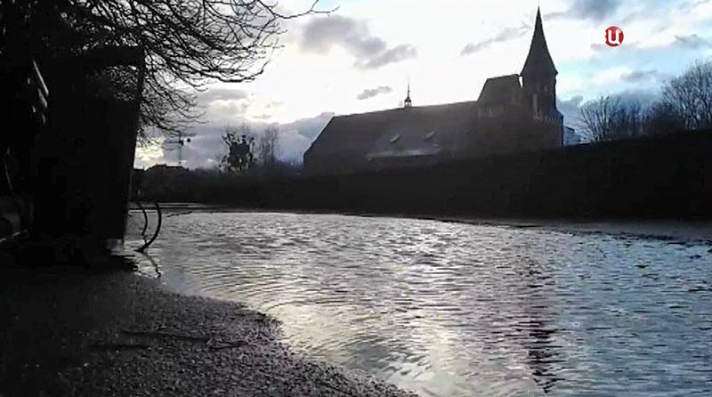 Наводнение в Калининграде