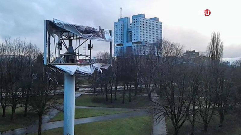 Непогода в Калининграде