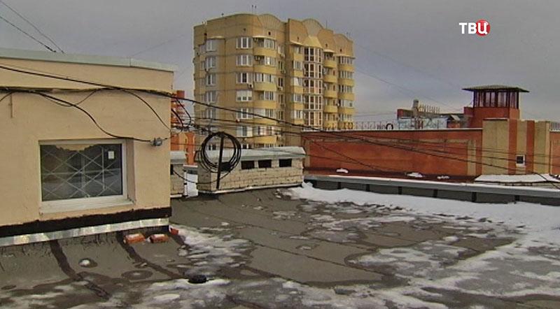 Новая крыша дома
