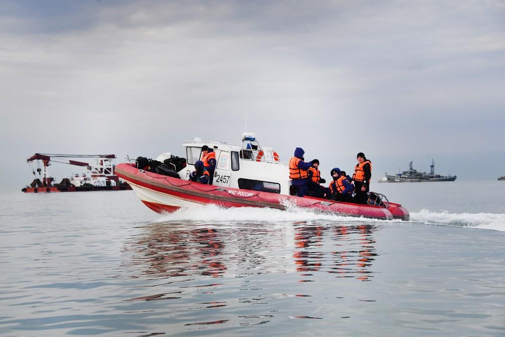 Поисково-спасательная операция МЧС России