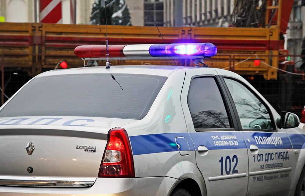 Автомобиль полиции. ДПС