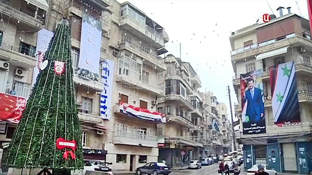 Новый год в Сирии