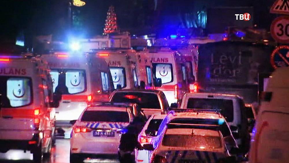 Машины скорой помощи в Турции