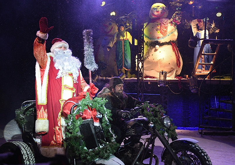 Новогодняя детская Елка в Московском байк-центре