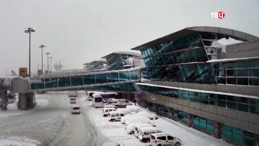 Последствия снегопада в Турции