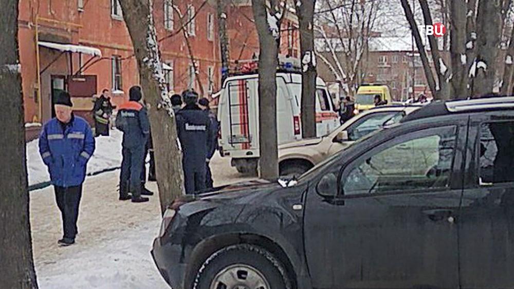 ЧП в Подольске