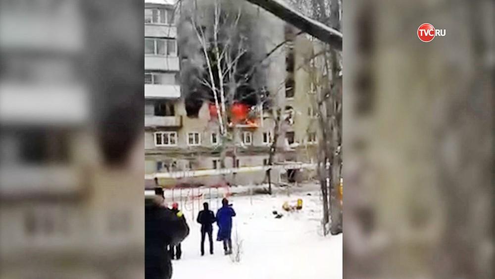 Взрыв газа в Саратове