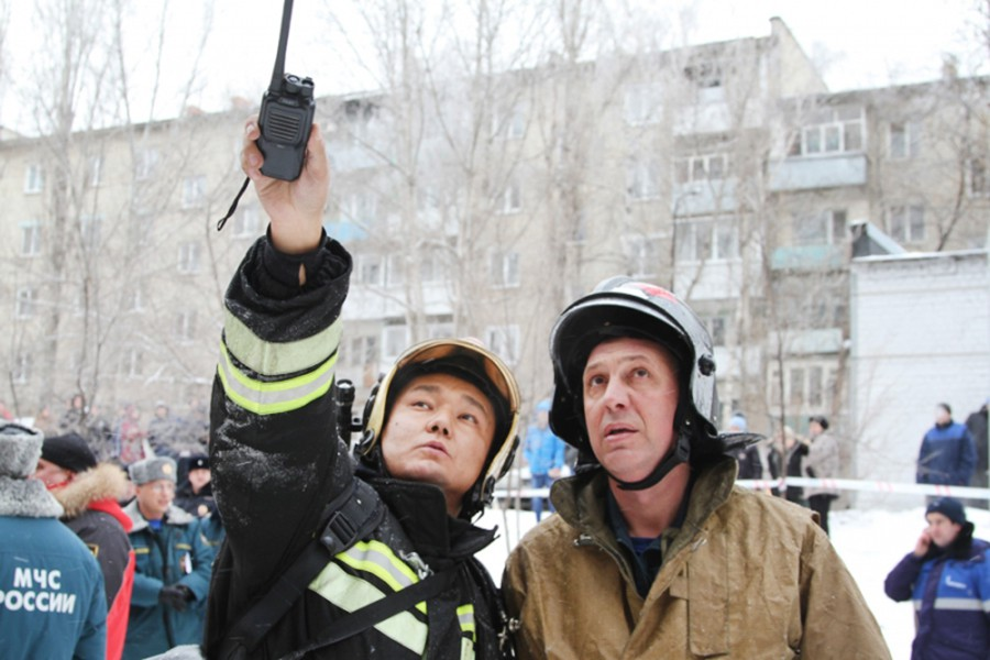 Спасатели МЧС