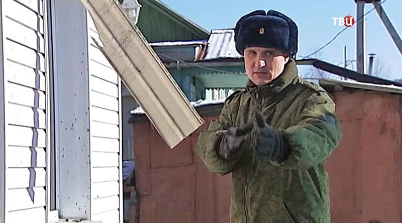 Приморский пограничник Алексей Пузанов