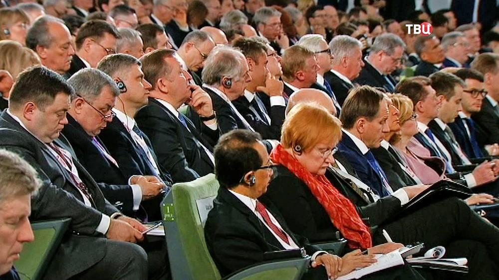 """Участники Гайдаровского форума """"Россия и мир: взгляд в будущее"""""""