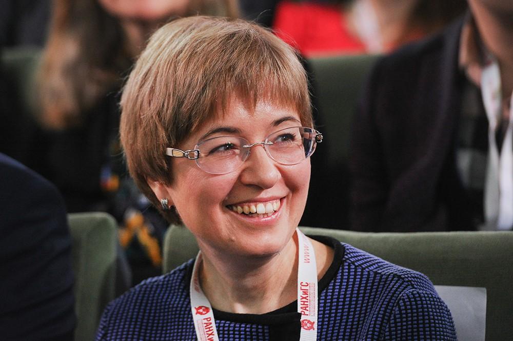 Первый заместитель Председателя Центробанка РФ Ксения Юдаева