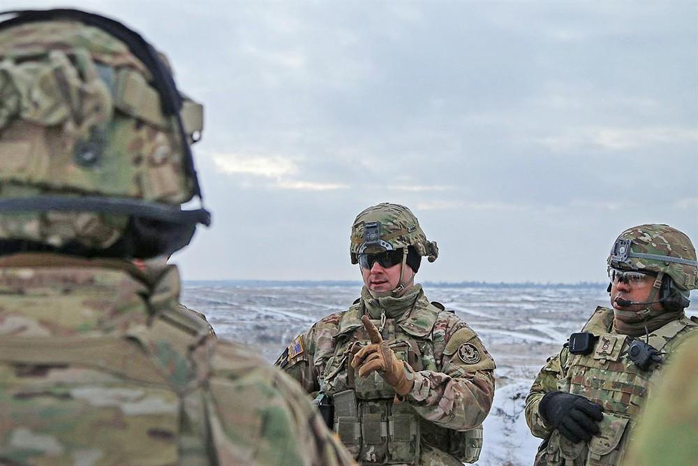 Военнослужащие армии США в Европе