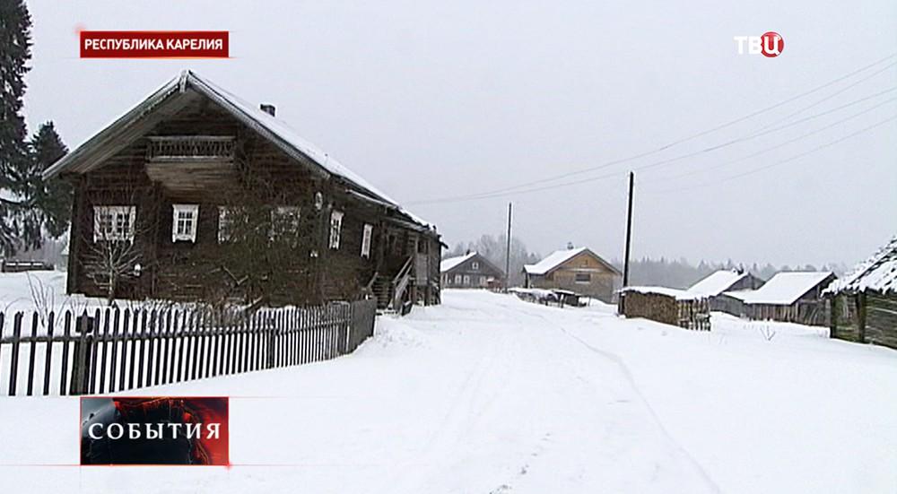 Деревня Кинерма, республика Карелия
