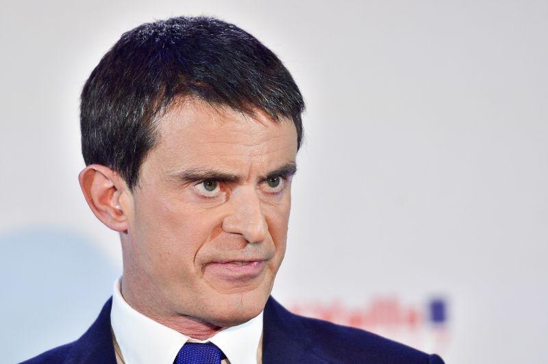 Кандидат в президенты Франции от социалистов Манюэль Вальс