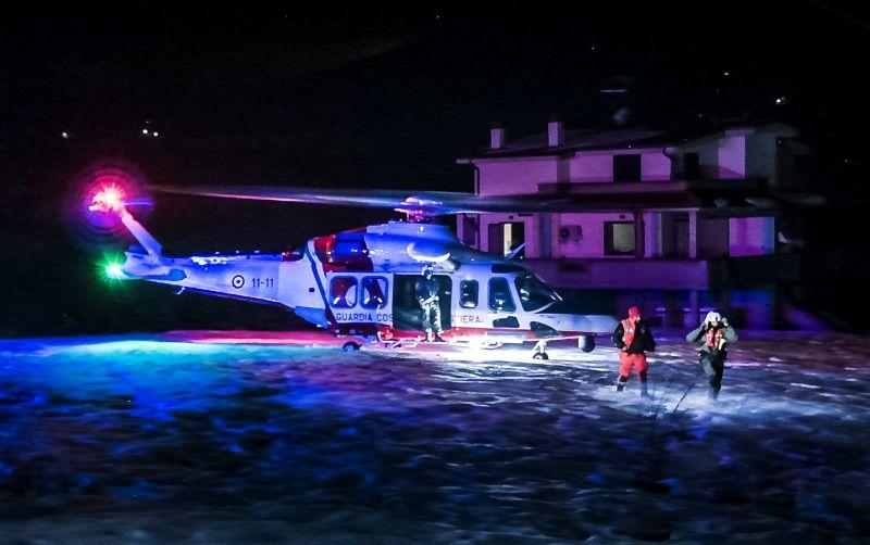 Итальянские спасатели