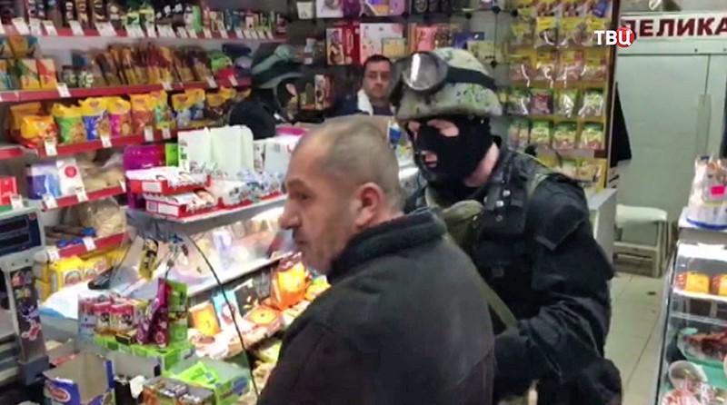 Задержание похитителей