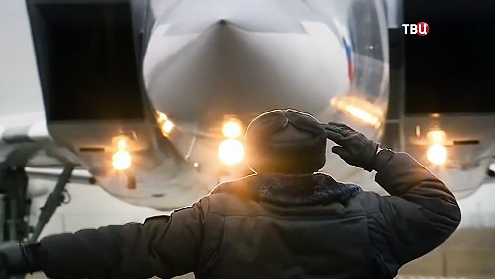 Бомбардировщик Ту-22 ВКС России