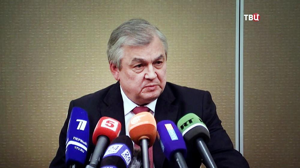 Специальный представитель президента России по сирийскому урегулированию Александр Лаврентьев