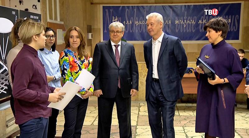 Мэр Москвы в Высшей школе экономики