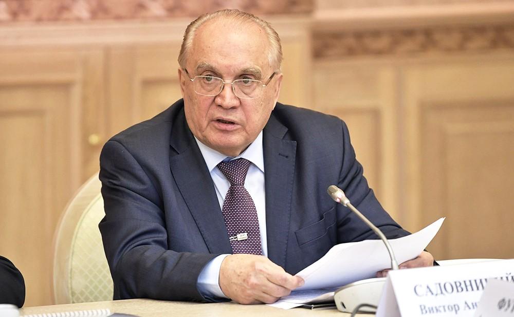 Ректор МГУ Виктор Садовничий